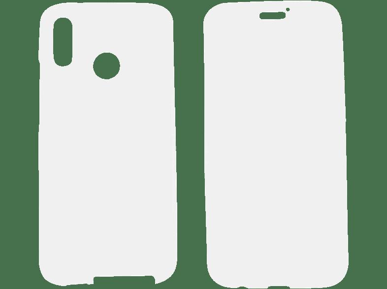 V-DESIGN V-LV 040 , Full Cover, Huawei, P20 Lite, Thermoplastisches Polyurethan, Transparent