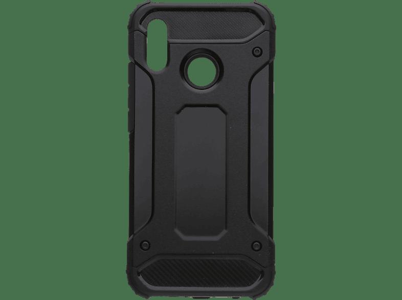 V-DESIGN VDR 009 , Backcover, Huawei, P20 Lite, Plastik + Thermoplastisches Polyurethan, Schwarz