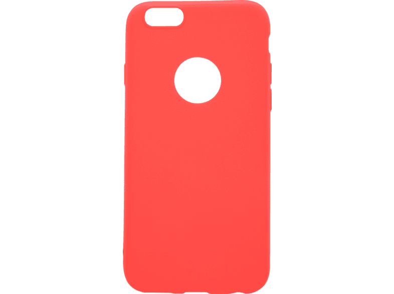 V-DESIGN VMT 027 , Backcover, Apple, iPhone 6, iPhone 6s, Thermoplastisches Polyurethan, Rot