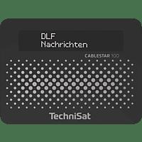 TECHNISAT CABLESTAR 100 Radio (Schwarz)