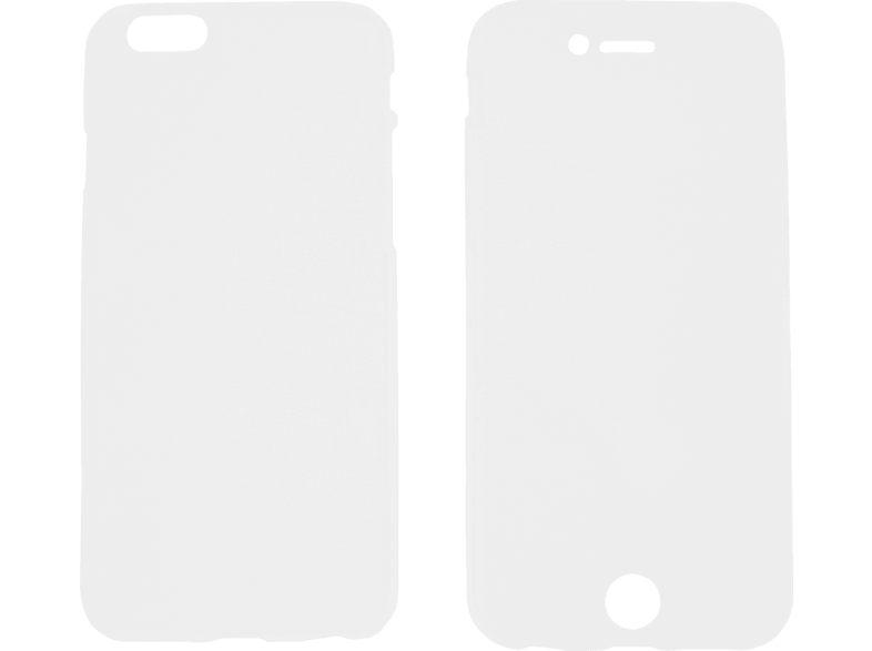 V-DESIGN V-LV 003 , Full Cover, Apple, iPhone 6, iPhone 6s, Thermoplastisches Polyurethan, Transparent