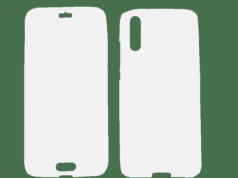 V-DESIGN V-LV 039 , Full Cover, Huawei, P20, Thermoplastisches Polyurethan, Transparent