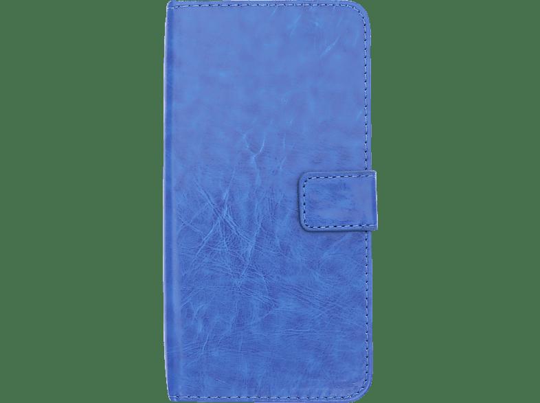 V-DESIGN BV 376 , Bookcover, Huawei, P20, Kunstleder, Blau