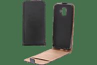 V-DESIGN VKL 0170 , Flip Cover, Samsung, Galaxy A6 (2018), Kunstleder, Schwarz