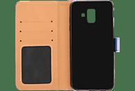 V-DESIGN BV 421 , Bookcover, Samsung, Galaxy A6 (2018), Kunstleder, Blau