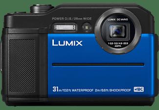 PANASONIC DC-FT 7 EG-A Digitalkamera  Blau, 4.6x opt. Zoom, TFT-LCD
