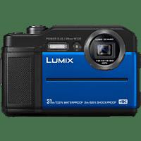 PANASONIC DC-FT 7 EG-A Digitalkamera  Blau, 20 Megapixel, 4.6x opt. Zoom, TFT-LCD
