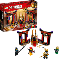 LEGO Duell im Thronsaal (70651) Bausatz, Mehrfarbig