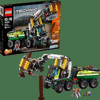 LEGO Harvester-Forstmaschine (42080) Bausatz, Mehrfarbig