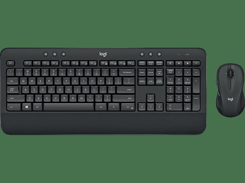 LOGITECH MK545, Tastatur-Maus Set, Schwarz
