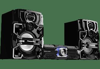 PANASONIC Kompaktanlage SC-AKX710E-K mit DJ Funktionen und Karaoke