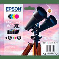 EPSON Multipack 502 XL Schwarz, Cyan, Yellow, Magenta (C13T02W64010)