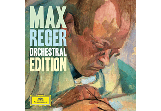VARIOUS - Max Reger - Orchestral Edition [CD]