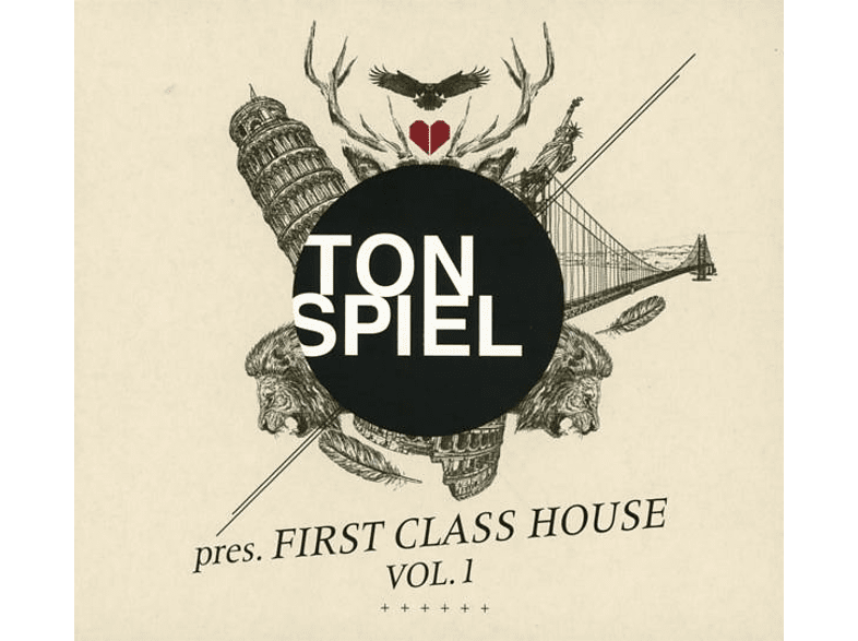 VARIOUS - TONSPIEL pres. FIRST CLASS HOUSE VOL.1 [CD]