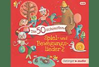 VARIOUS - Die 50 schönsten Spiel-und Bewegungslieder - (CD)