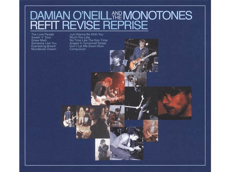 Damian And The Monotones O'neill - Refit Revise Reprise [Vinyl]