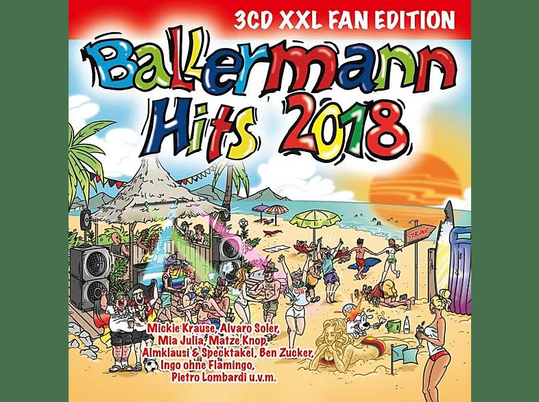 VARIOUS - Ballermann Hits 2018 (XXL Fan Edition) [CD]