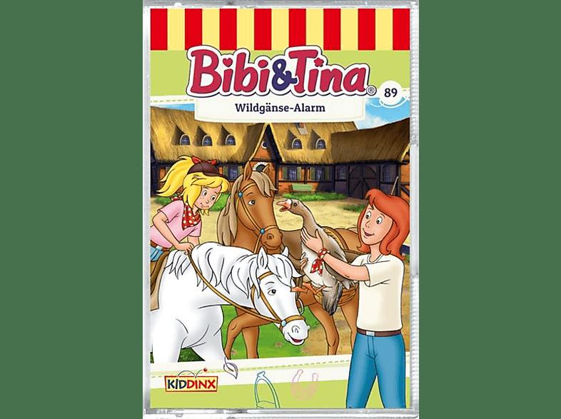 Bibi+tina - Folge 89: Wildgänse-Alarm - (MC (analog))