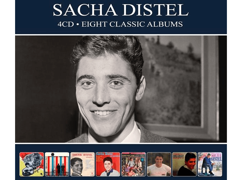 Sacha Distel - 8 Classic Albums [CD]