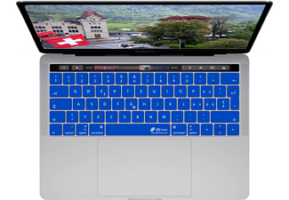 KB COVERS Covers Clear Keyboard Cover - Protection de clavier (Bleu foncé)