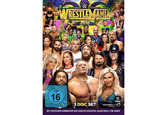 Wrestlemania 34 DVD