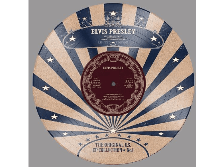 """Elvis Presley - US EP Collection Vol.1-Ltd.10"""" Picture Disc [EP (analog)]"""