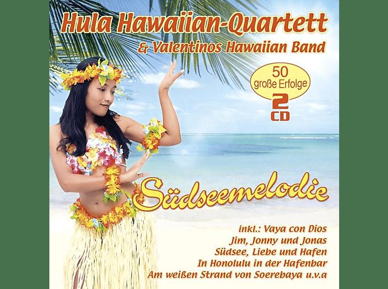 Hula Hawaiian-quartett & Valentinos - Suedseemelodie-50 grosse Erfolge [CD]