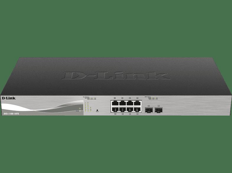 Smart Switch D-LINK 10-Port Smart Managed 10G Switch 2x SFP+ 10