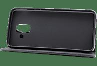 AGM 27152 , Bookcover, Samsung, Galaxy A6 (2018), Obermaterial Kunstleder (TPU), Schwarz