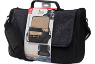 POWER A Messenger Bag Zelda Everywhere Nintendo Switch Messenger Bag, Schwarz