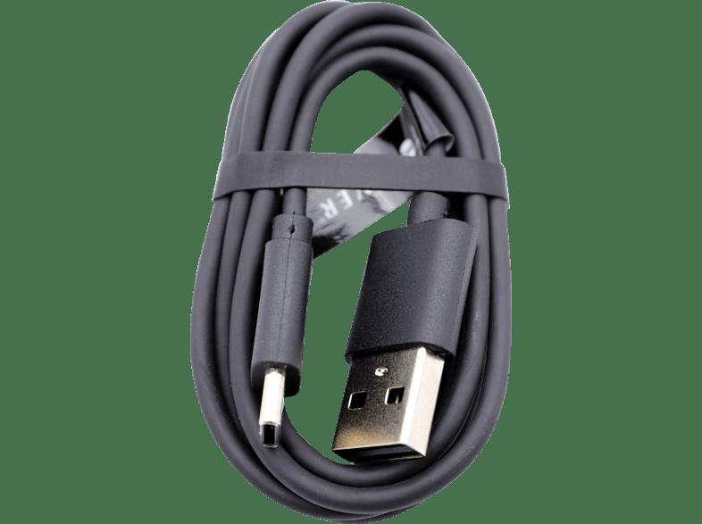 AGM 27154 USB-C auf USB 2.0, Datenkabel/Ladekabel, 1 m, Schwarz