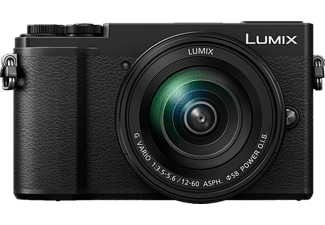 PANASONIC Appareil photo hybride Lumix DC-GX9 + 12-60 mm Black (DC-GX9MEF-K)