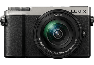 PANASONIC Appareil photo hybride Lumix DC-GX9 + 12-60 mm Silver (DC-GX9MEF-S)