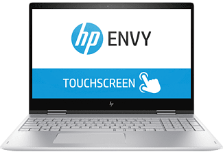 HP ENVY x360 15-bp102ng, Notebook mit 15.6 Zoll Display, Core™ i5 Prozessor, 4 GB RAM, 1 TB HDD, 256 GB SSD, GeForce® MX150, Silber