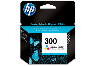 Cartuchos de tinta - HP 300 Tricolor, CC643EE