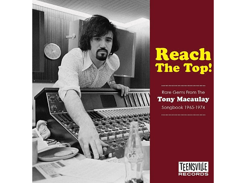 VARIOUS - Reach The Top! (The Tony Macaulay Sopngbook 65-74) [CD]