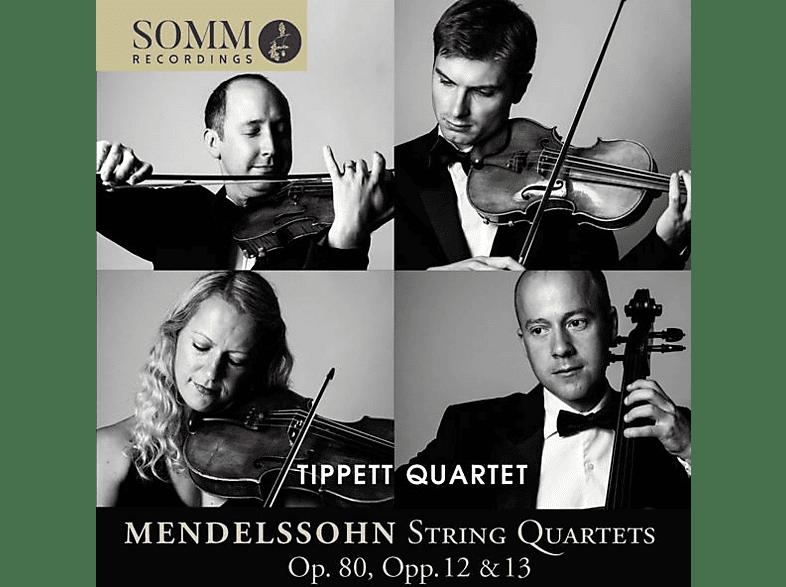 The Tippett Quartet - Streichquartette op.80,Opp.12 & 13 [CD]