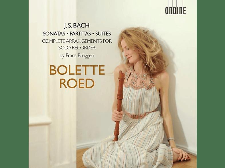 Bolette Roed - Sonaten,Partiten & Suiten für Solo Blockflöte [CD]