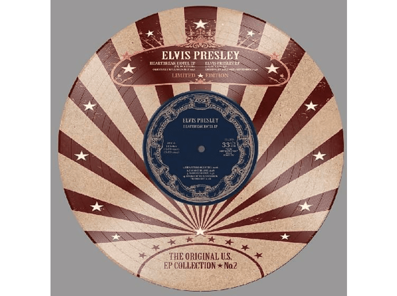 "Elvis Presley - US EP Collection Vol.2-Ltd.10"" Picture Disc [EP (analog)]"