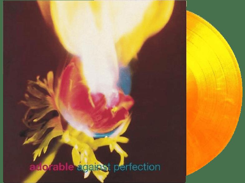 Adorable - Against Perfection-Ltd.Flaming Vinyl [Vinyl]