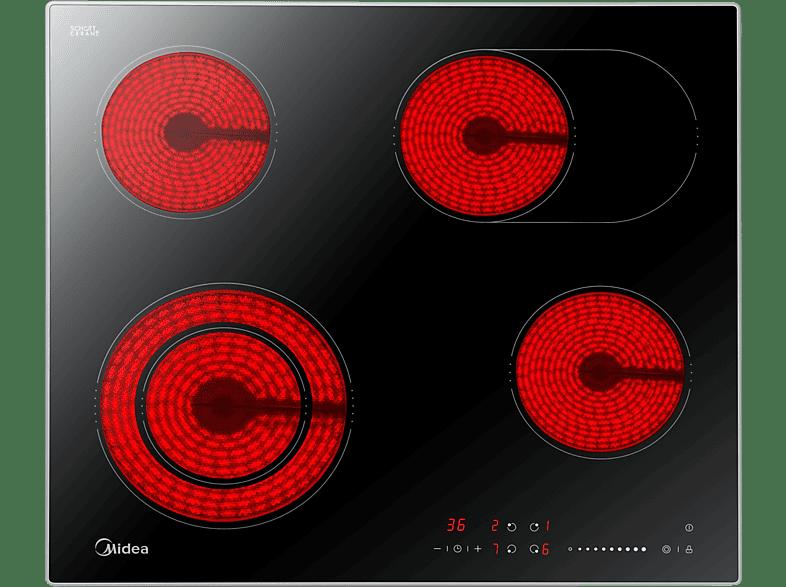 MIDEA K 3.60, Glaskeramikkochfeld (600 mm breit, 4)