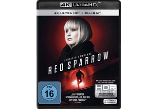 Red Sparrow [4K Ultra HD Blu-ray + Blu-ray]