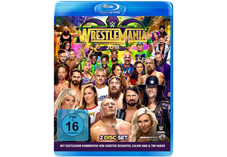 Wrestlemania 34 Blu-ray