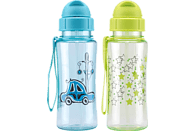 CULINARIO 054468 Kids Fun Sterne & Autos Trinkflasche