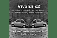 Adrian & La Serenissima Chandler - Vivaldi x 2-Double Concertos [CD]