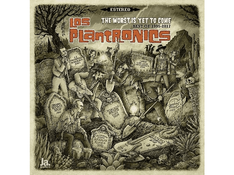 Los Plantronics - The Worst Is Yet To Come - Best Of 1995-2017 [Vinyl]