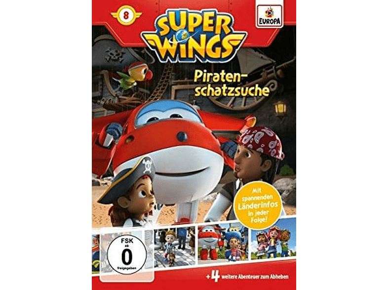 Super Wings - 8: Piratenschatzsuche [DVD]