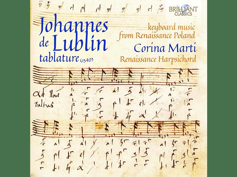 Corina Marti - De Lublin:Tablature (1540) [CD]