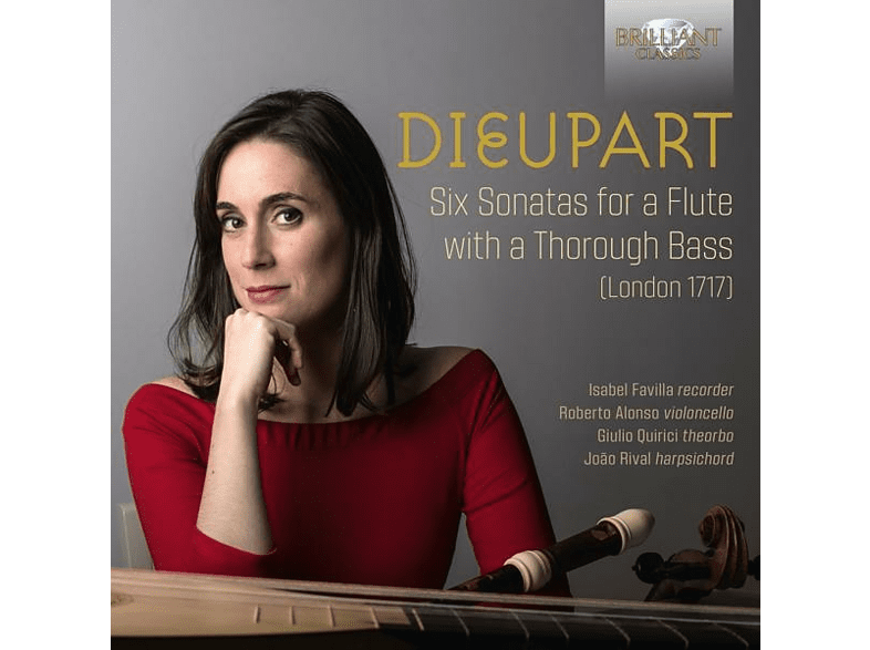 Favilla/Alonso/Quirici/Rival - Six Sonatas For A Flute With A Thorough Bass [CD]
