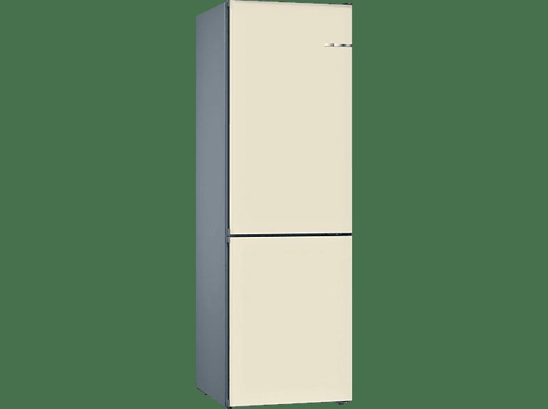 BOSCH KVN39IV4A  Kühl- / Gefrierkombination (A+++, 182 kWh/Jahr, 2030 mm hoch, Perlweiß)